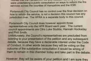fire-cuts-debated-at-portsmouth-city-council-meeting