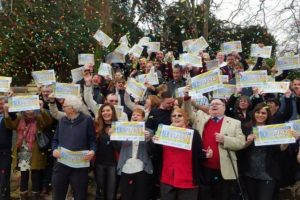 isle-of-wight-families-celebrate-winning-on-postcode-lottery-in-shanklin