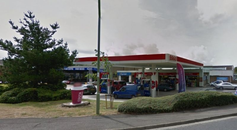 police appeal after attempted robbery at service station in park gate