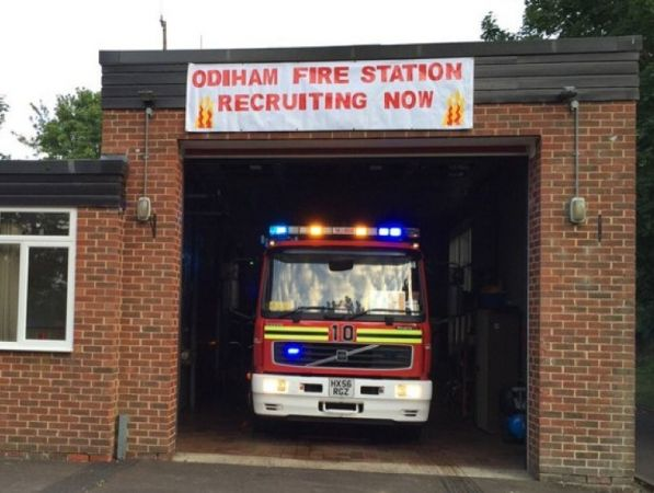 thieves put lives at risk after fire station break in at odiham