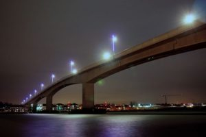 two-vehicle-crash-closes-southampton-itchen-bridge
