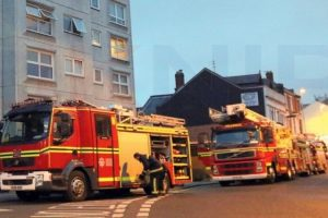 fire-engine-take-patient-to-hospital-after-tower-block-fire-in-portsmouth