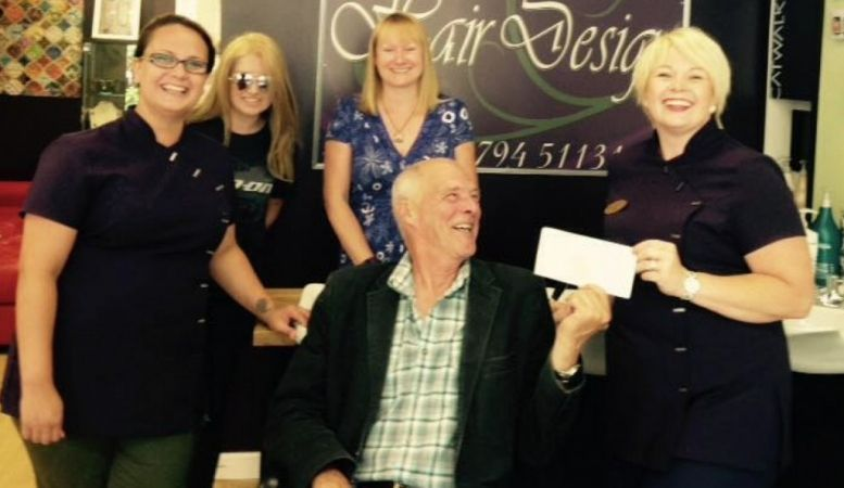 second instalment completes hairdressers grant