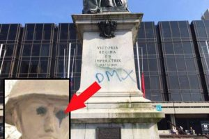 war-memorial-vandals-leave-clue-to-their-identity