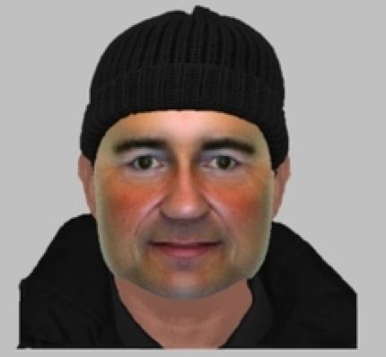 police release photo fit of one of the hsbc ram raiders