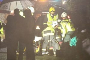 Driver Freed After Flipping Car In The Village Of Upham