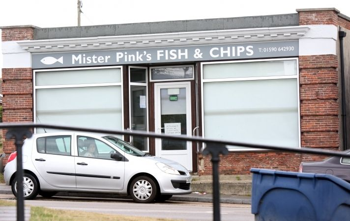 Fire Crews Tackle Blaze At Mr Pinks Chip Shop In Milford