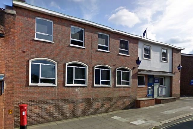 Newport Police Station by Google StreetView