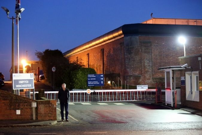 Fire Crews Called To  Cell Fire At  Hmp Winchester