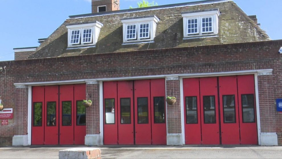 Fire Crews Called To A Fire At The Alresford Fire Station  Oops