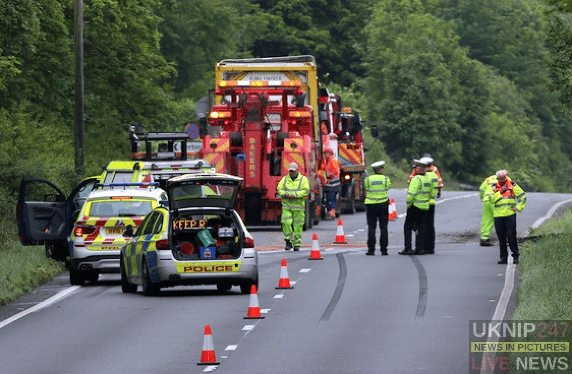 Police  Close A303 Eastbound  Following Serious Collision