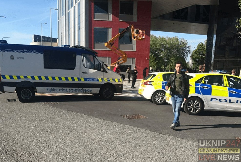 University Of Salford Has Been Evacuated After Suspect Package Has Been Found