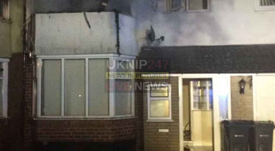 Four Rescued From Severe Housefire In West Midlands