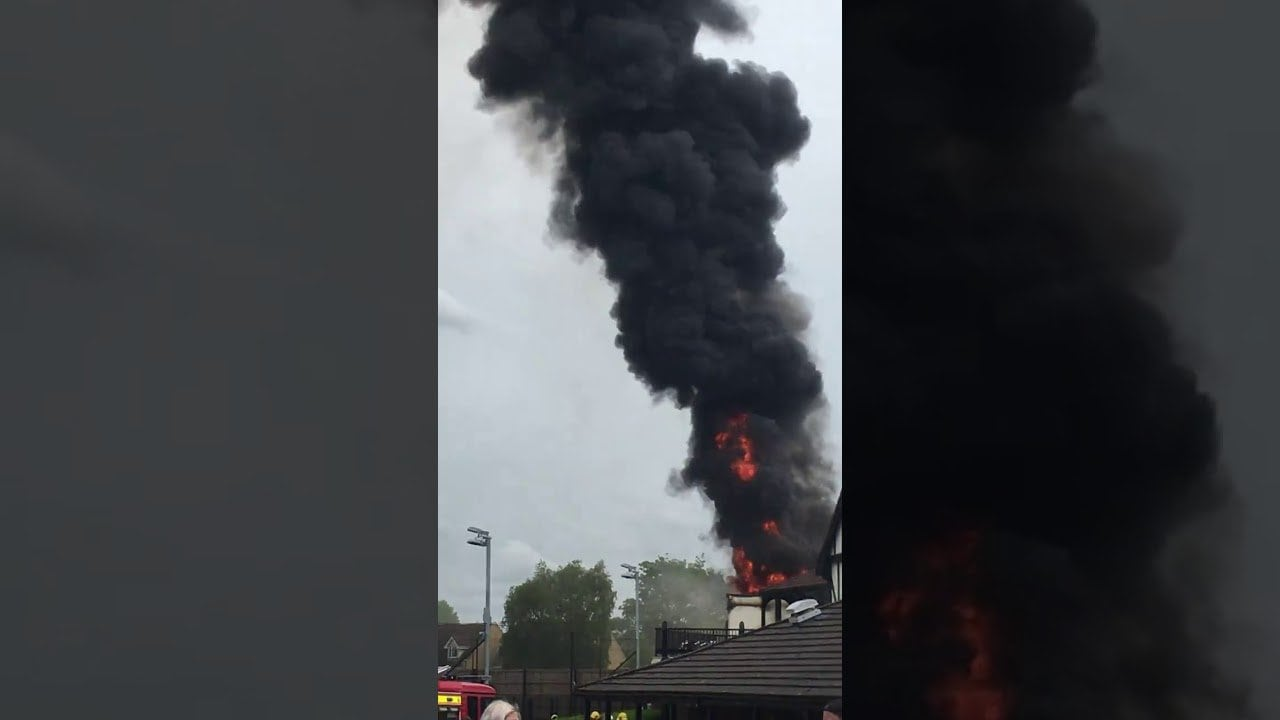 fire breaks out at south bristol sports centre f dhjnYp0O8
