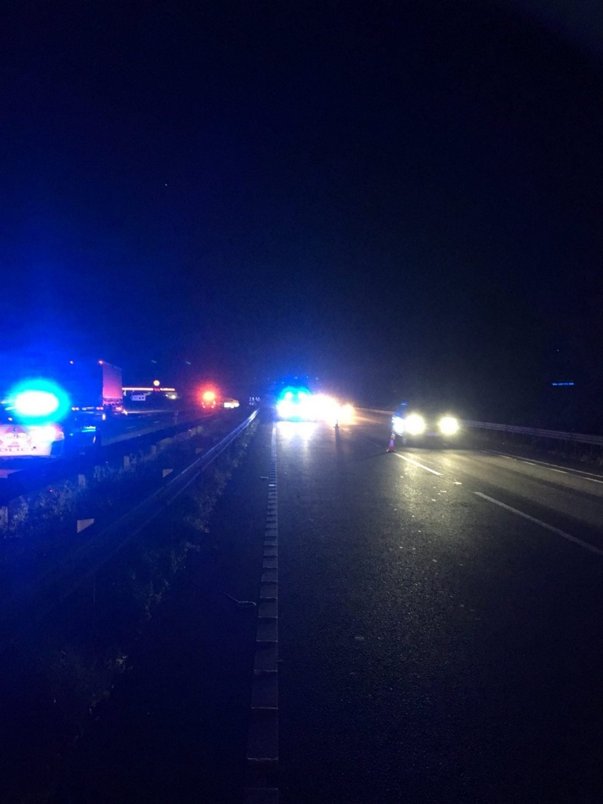 A34 Closed In Both Directions In Oxfordshire Following Serious Collision