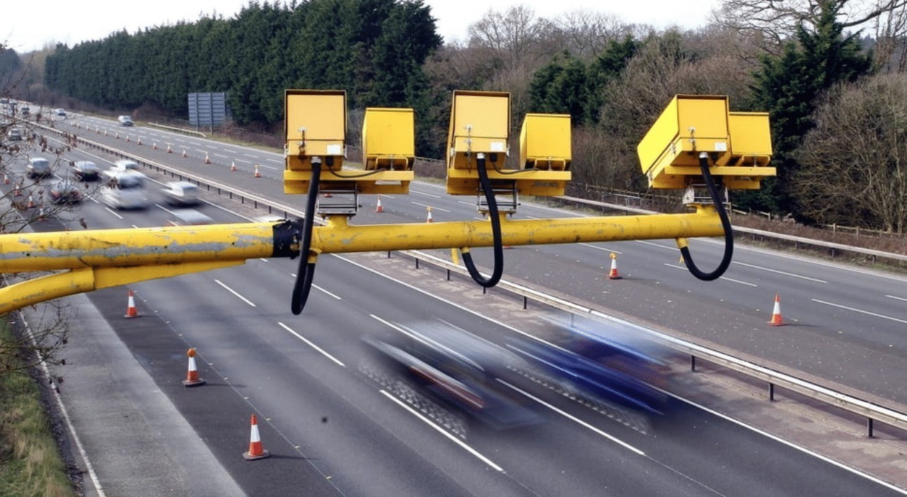 average speed cameras more effective at slowing vehicles down than traditional single location fixed ones