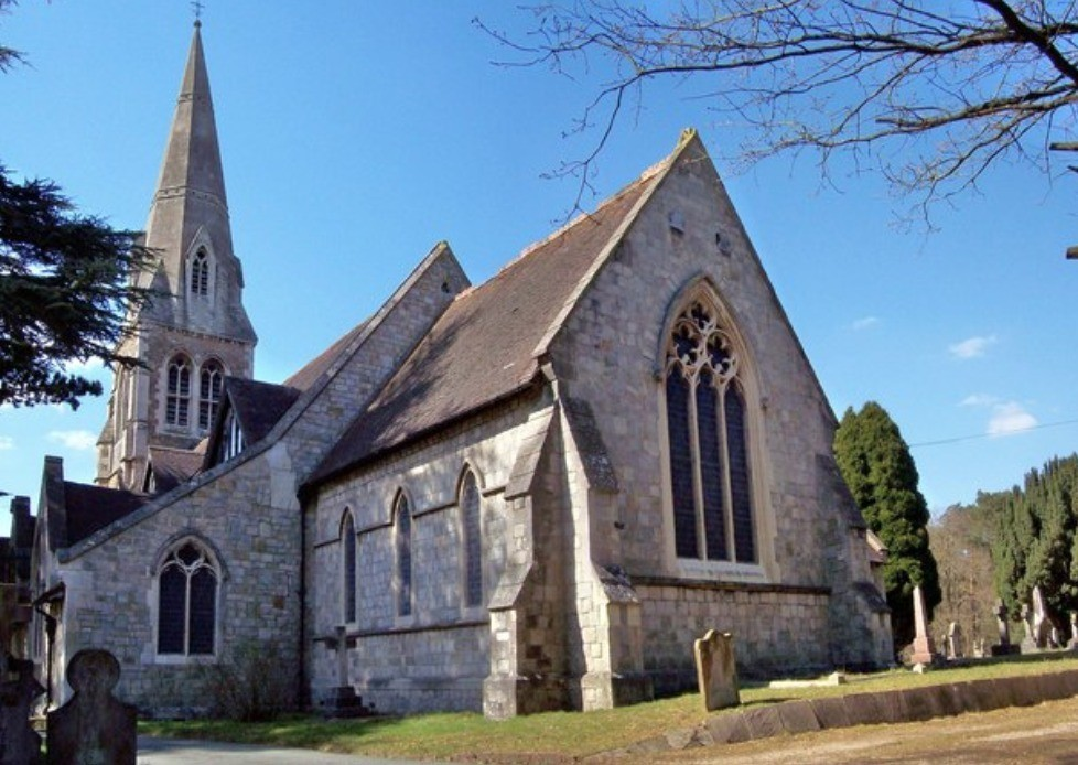 probe launchd after grim discovery of body in camberley church yard