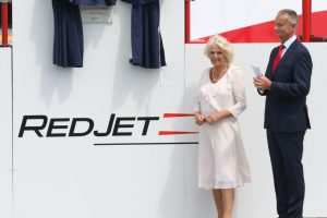 Red Jet Seven Named by Duchess