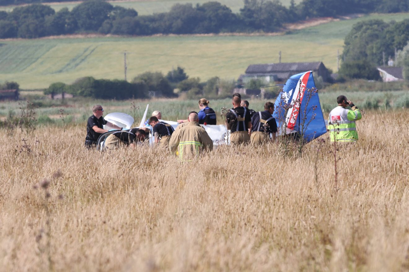aircraft crash at bembridge 1