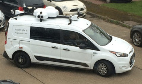 apple maps vehicles hit the isle of wight