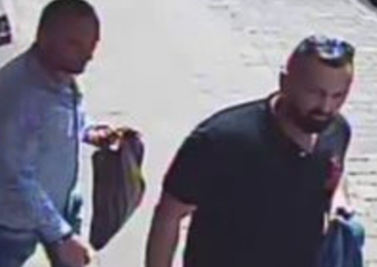 hampshire constabulary issuing a cctv image of two men