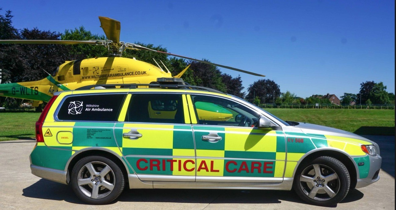 breaking military seize rapid response vehicle from air ambulance airbase