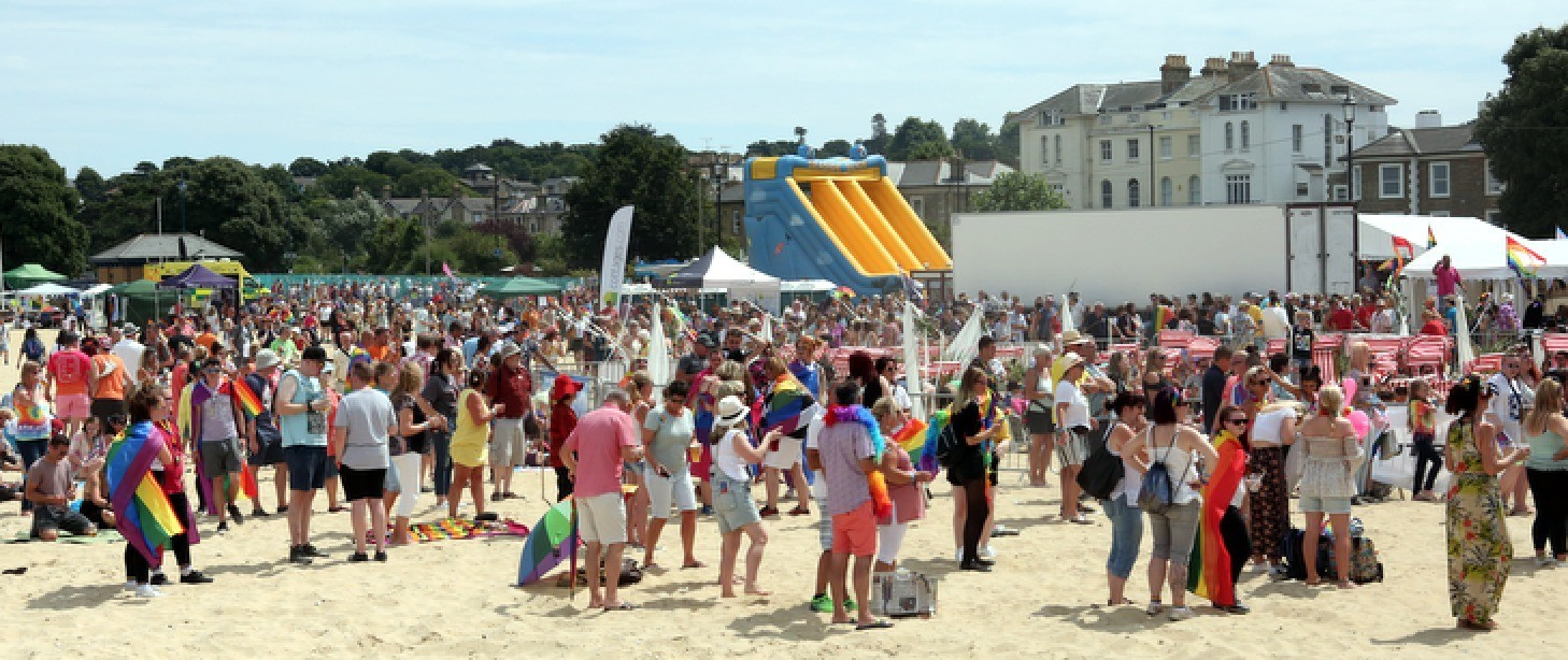 three hurt at isle of wight pride 2018 after marquee blows away in freak gust of wind