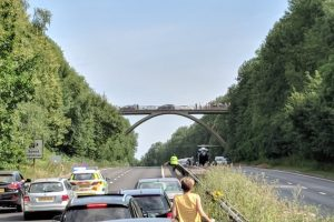 police-closed-a21-in-kent-in-both-directions-after-a-woman-has-fallen-from-a-bridge