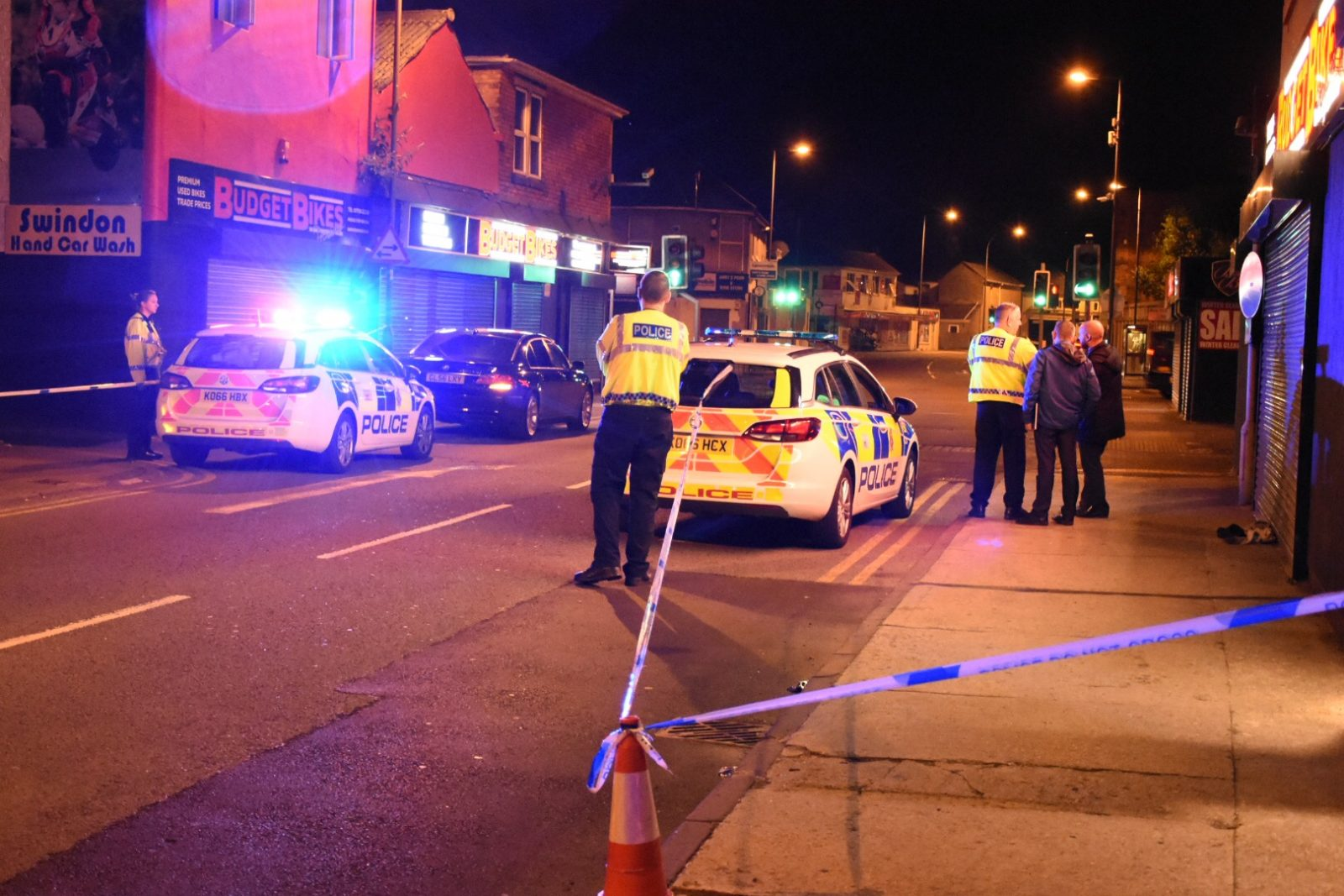 Man, 45, Hospitalised After Being Attacked With Weapon In Swindon Town Centre