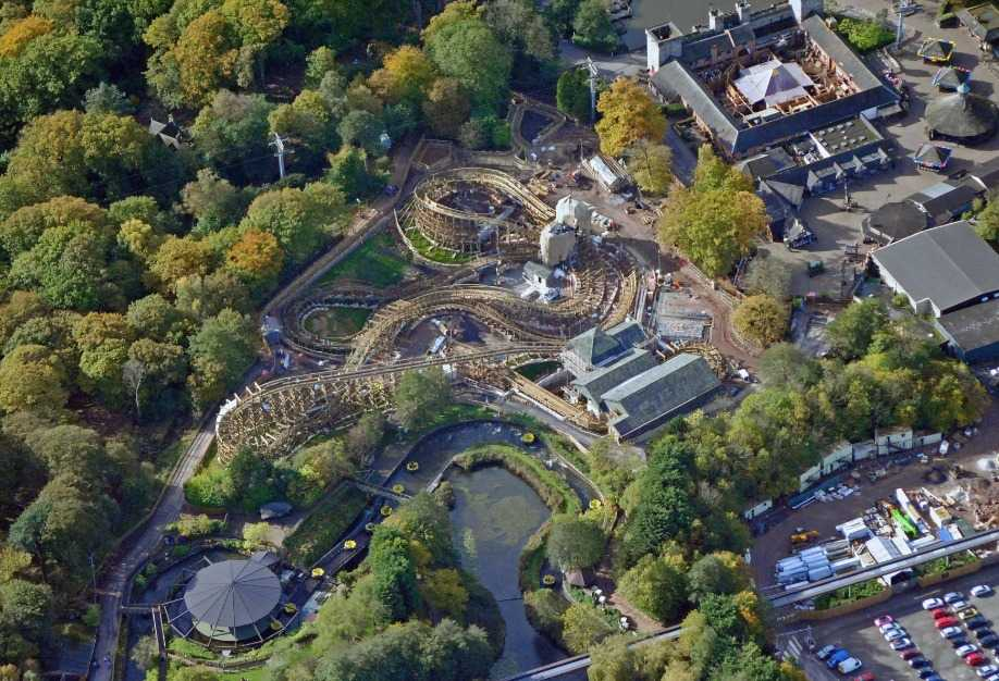 Midlands Air Ambulance Called To Alton Towers