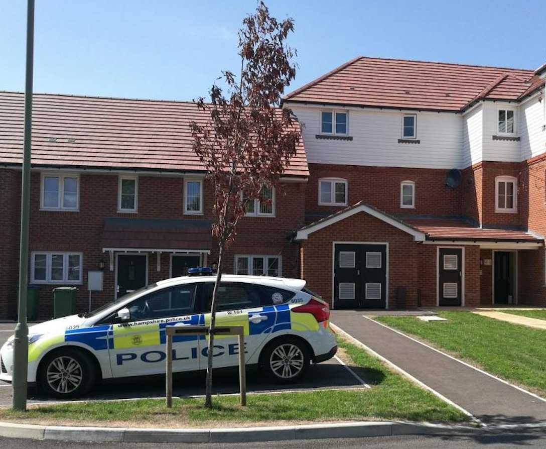 police launch murder invesigation in fareham 1