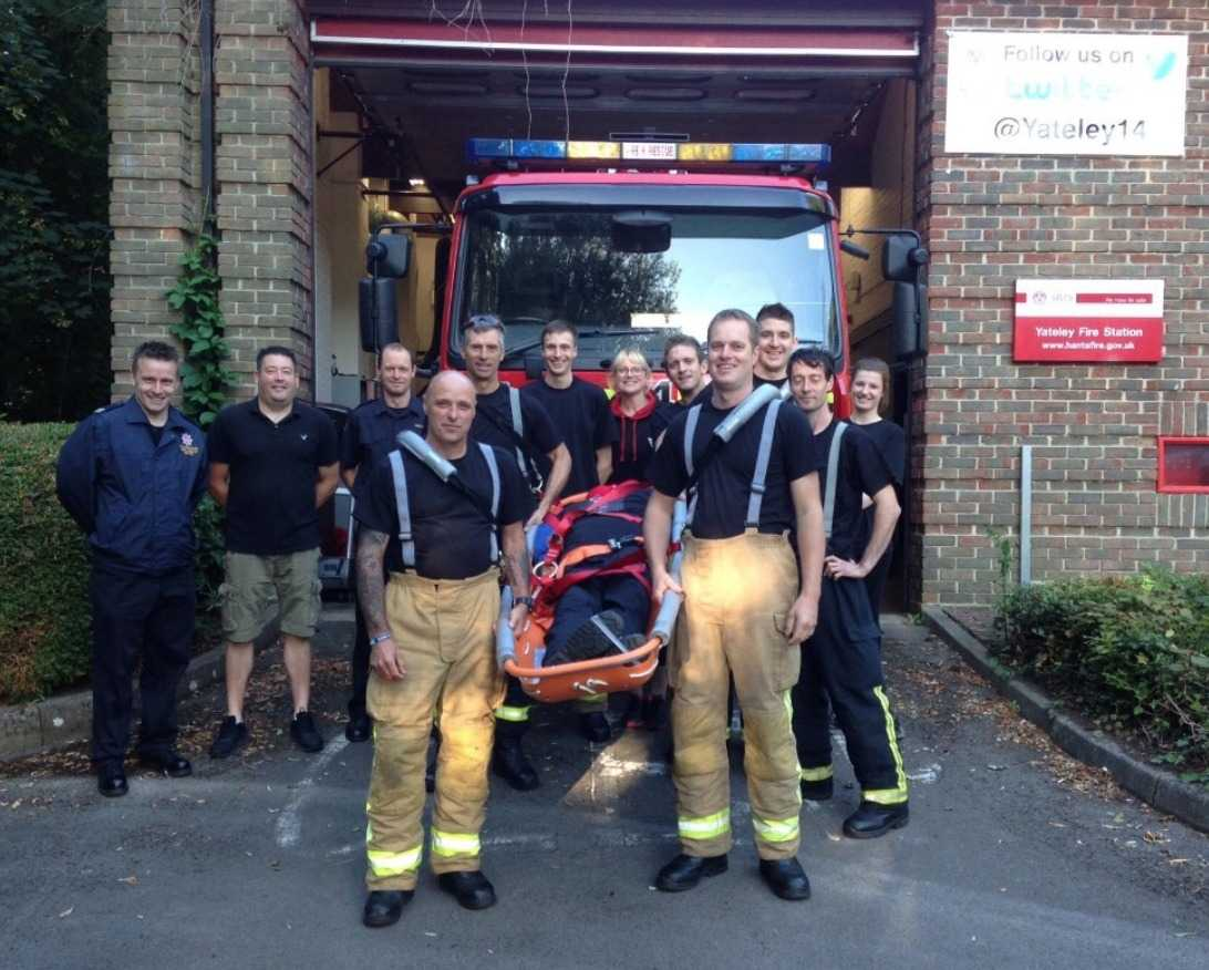 tadley fire fighters reigniting the challenge