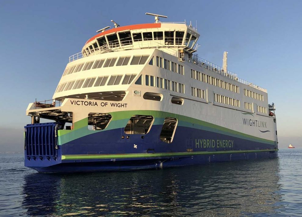 not going to be plain sailing for wightlink victoria