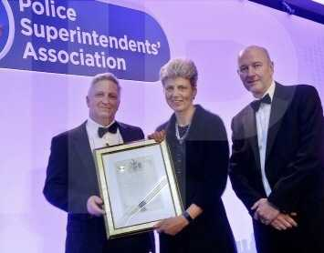 uk longest serving top cop presented prestigious award