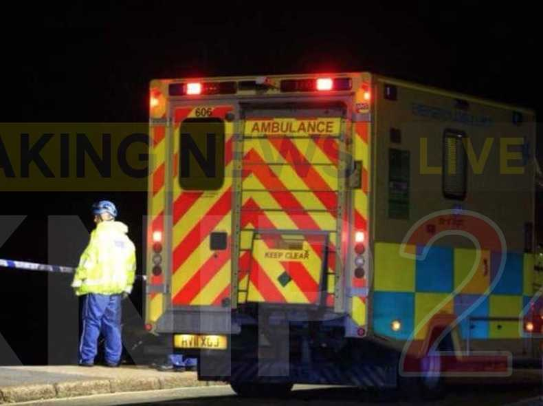 man pulled from water by coastguard rescue teams in sandown isle of wight 1
