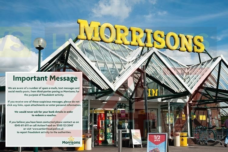 isle of wight morrison's customers targeted in text scam