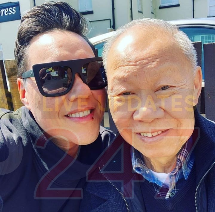 celebrity fashion television icon gok wan is today in bishopstoke