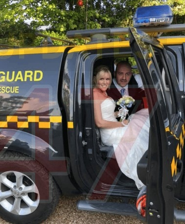 congratulations are in order for our coastguard rescue officers jeff and vicki 1