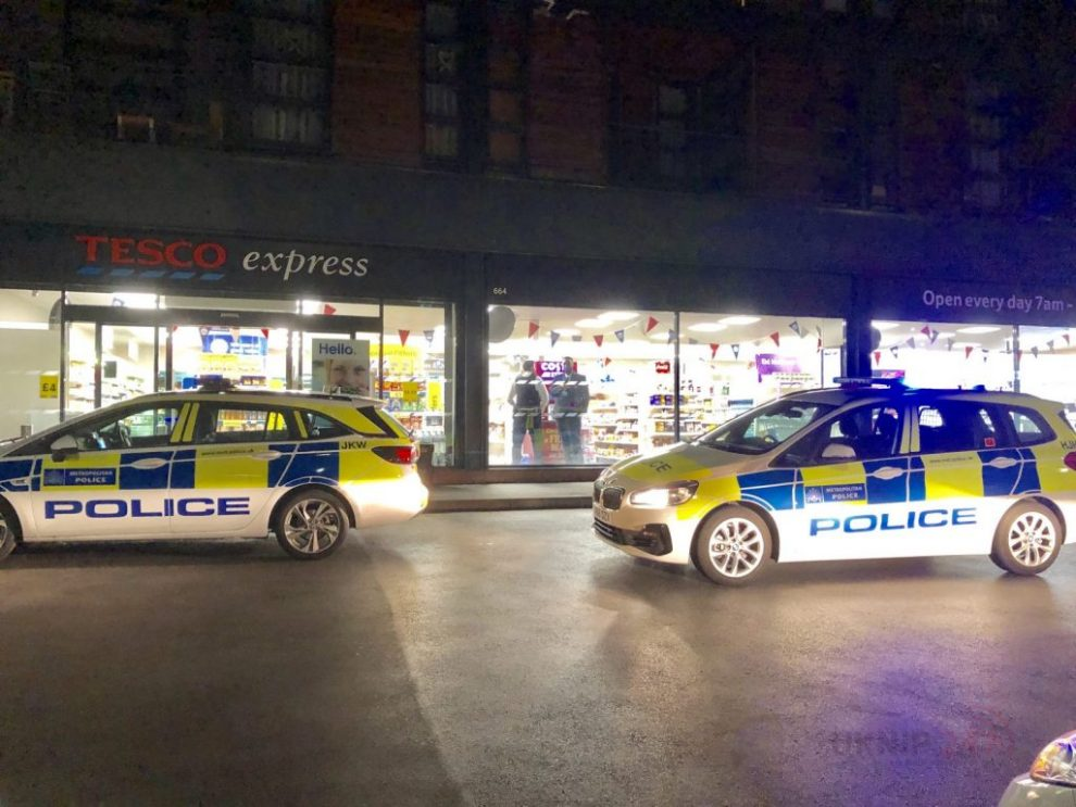 police called to reports of man robbed at knifepoint in kingsbury