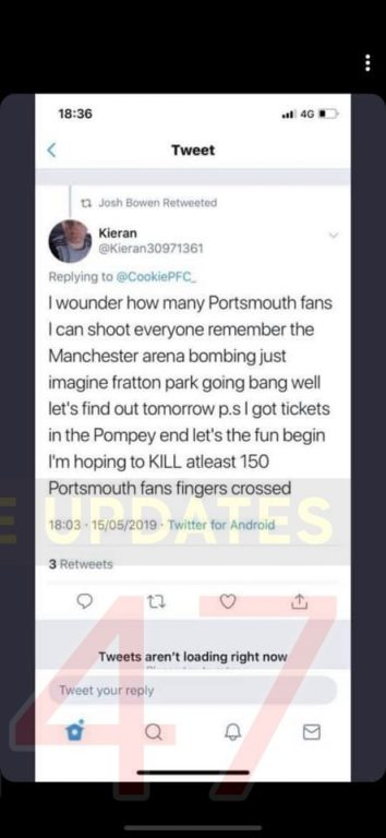 anti terror police launch probe after sunderland fans issues terror threat