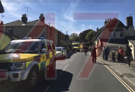emergency services called to godshill after electric cable is cut through 1