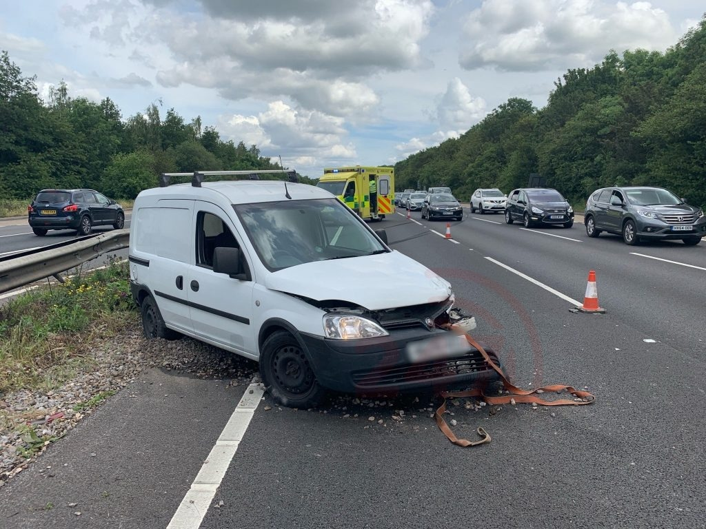 Drunk Driver Causes Traffic Chaos On The A3