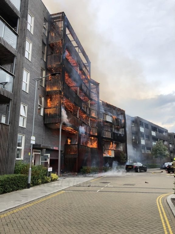 major fire breaks out at barking tower block