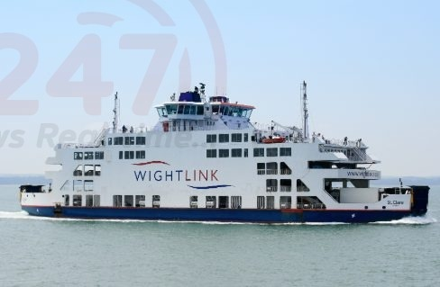 wightlink st claire engine problem likely to affect isle of wight festival traffic
